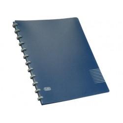 Showalbum ELBA Vario-zipp A4 25t d.blauw