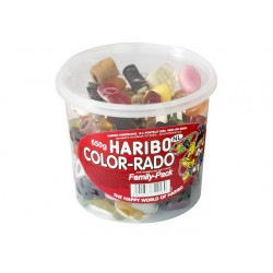 Snoep Haribo color rado/ pak 650g