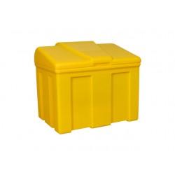 Opslagkist zout 170 liter geel