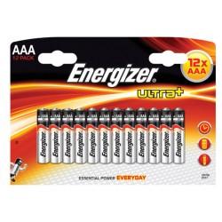 Batterij Energizer Ultra Plus AAA/Pak 12