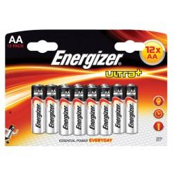 Batterij Energizer Ultra Plus AA/Pak 12