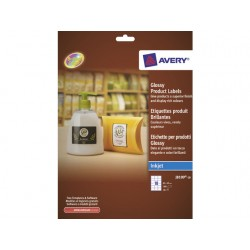 Etiket Avery I 62x42 rechth. gloss/pk180
