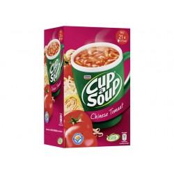 Soep Cup-a-soup chinese tomaat/doos 21