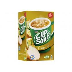 Soep Cup-a-soup Unox Franse ui/doos 21