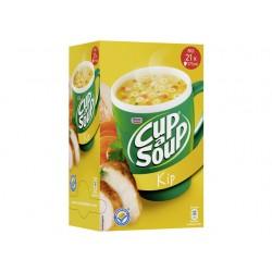 Soep Cup-a-soup Unox Kippen/doos 21