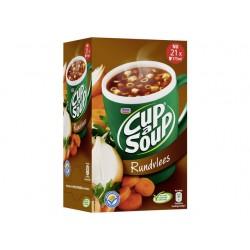 Soep Cup-a-soup Unox rundvlees/ds 21