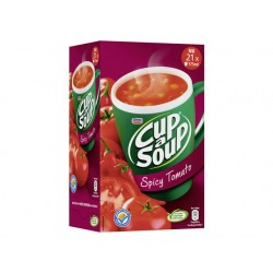 Soep Cup-a-soup Unox spicy tomato/ds 21