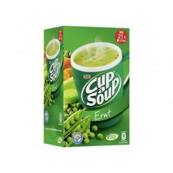 Soep Cup-a-soup Unox erwten/doos 21