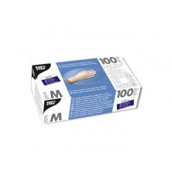 Handschoen Papstar latex ongep. M pk/100