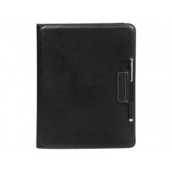 Hoes Targus iPad 3 Versavu leder zwart