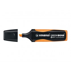 Tekstmarker Stabilo GREEN BOSS or/ds 10
