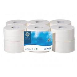 Toiletpapier BRPR jumbo 2lg wt/pk12x160m