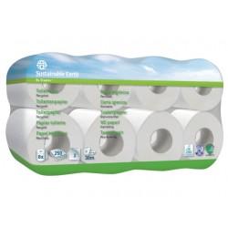 Toiletpapier Sust.E. 2lgs wit/pk8x250vel