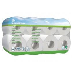 Toiletpapier Sust.E.2lgs wit/pk8x400vel