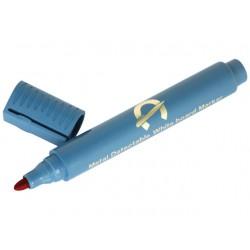 Whiteboard marker Detectamet rood/zak 10