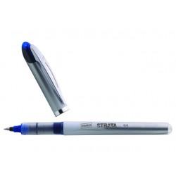 Rolschrijver SPLS Strata 0,5 blauw/pk 12