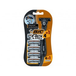 Scheerset BIC Flex Easy All In +5 mesjes
