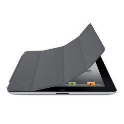 Cover Apple Smart iPad2/3 polyur.d.grijs