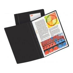 Hechtmap SPLS Premium A4 PVC zwart/pk 25