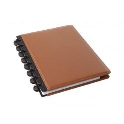 Notitieboek ARC A5 lijn leer bruin
