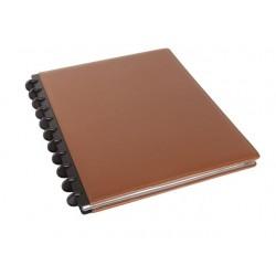 Notitieboek ARC A4 lijn leer bruin