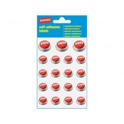 Etiket SPLS EASY assorti/pk 76