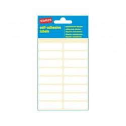 Etiket SPLS 12x40 wit/pk 112