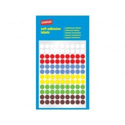 Etiket SPLS 8mm 6 kleuren assorti/pk648