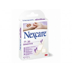Pleister Nexcare 3M Sensitive ass./pk30