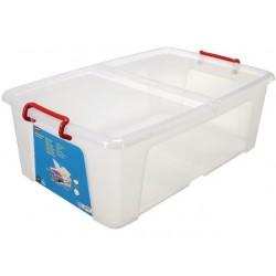 Transport box Staples m deksel 50L /ds5