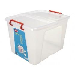 Transport box Staples m deksel 42L /ds5