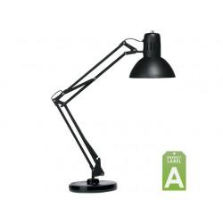 Bureaulamp Unilux Succes 66 m.voet zwart