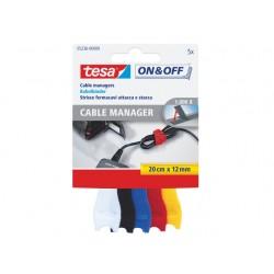 Kabelbinder tesa 0,2mx12mm assorti