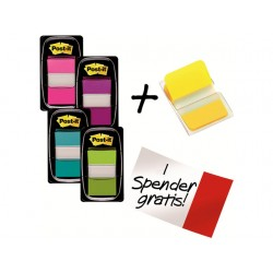 Index Post-it Value Pack +1 gratis ass