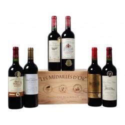 Wijn rood Grand vin de bordeaux ass/ds6