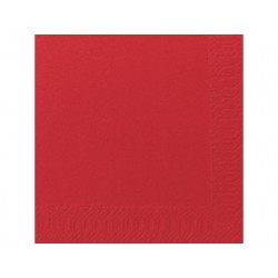 Servet Duni 33x33cm 3lgs rood/pk125
