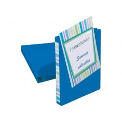 Presentatieringband A4-maxi 4D20 bl/pk 2