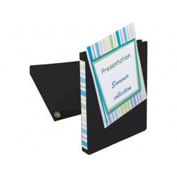Presentatieringband A4-maxi 4R16 zw/pk 2