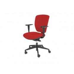 Bureaustoel Prof Chair NEN-EN 1335 rood