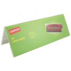 Tafelnaambord SPLS A4 gevouwen transp.