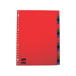 Tabblad SPLS A4 23R PP kleurentab/set 20