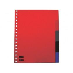 Tabblad SPLS A5 17R PP kleurentab/set 5
