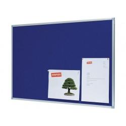 Prikbord SPLS 120x90 vilt blauw