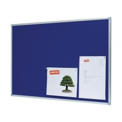 Prikbord SPLS 90x60 vilt blauw