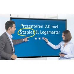 e-Screen Standard 55 inch Full HD zwart