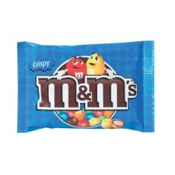 Chocoladesnack M&M 36g crispy/pak 24