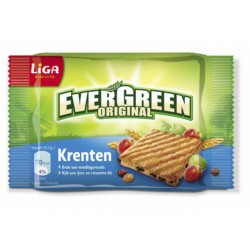 Biscuit Liga Evergreen krenten /pk24