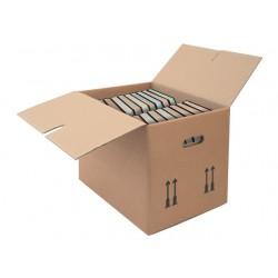 Boekverpakking 400x320x330mm bruin/10