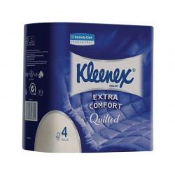 Toiletpapier KLeenex 160v 4L wit/pk4
