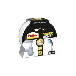 Power tape Pattex 50mmx25m wit/rl 25m